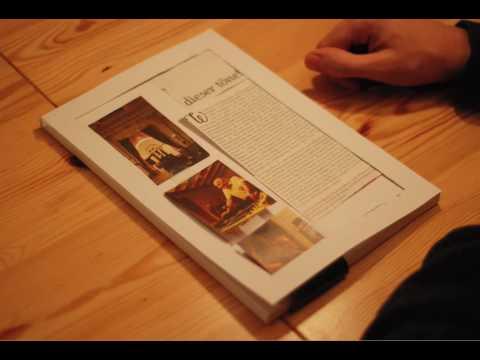 tablet magazine concept