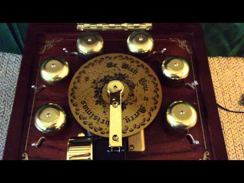 Mr. Christmas Symphonium Music Box