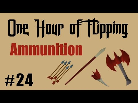 [OSRS] How I Made 1.1M in 1 Hour of Flipping Ammunition Items Only!  [Episode #24]
