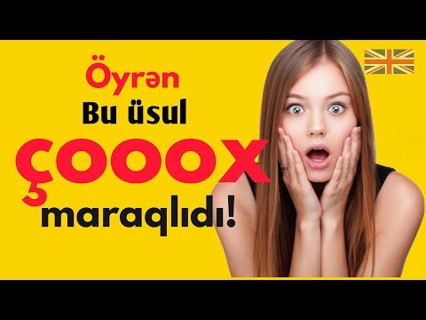 İngiliscə yeni sözləri əzbərləmədən necə yadda saxlamalı?(2019)