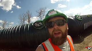 My Trucking Life - Hauling A Tank!!! - #1414