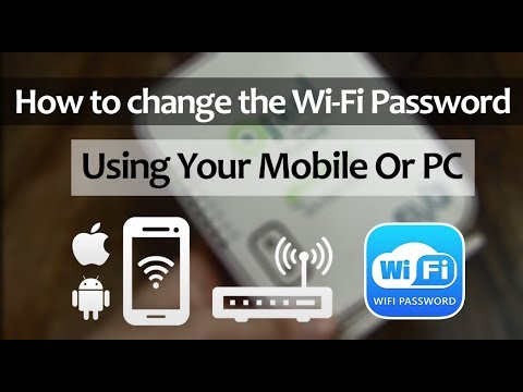 How to change spectrum wifi password on phone