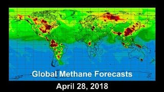 Global Methane Forecasts (April 28, 2018)
