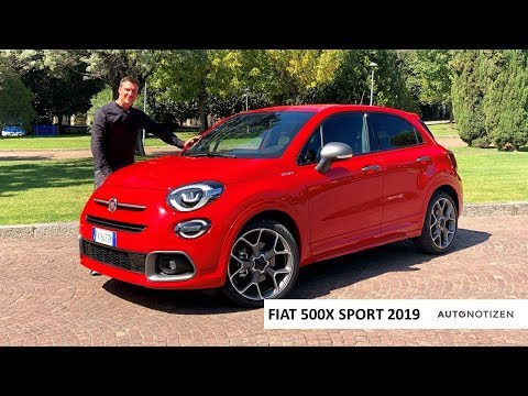 Fiat 500X Sport 2019: Abarth-Light als Kompakt-SUV? Review, Test, Fahrbericht