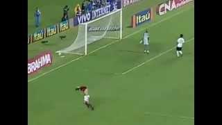 Golaço de cobertura de Adriano Imperador - Flamengo 3 x 0 Coritiba - BR  2009