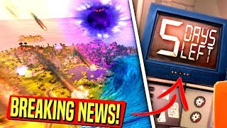 *BREAKING NEWS* NATURAL DISASTERS WILL HIT FORTNITE WITHIN DAYS! DOOMSDAY COUNTDOWN CUBE UPDATE!: BR
