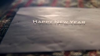 Tracking a text on a paper || Happy New Year