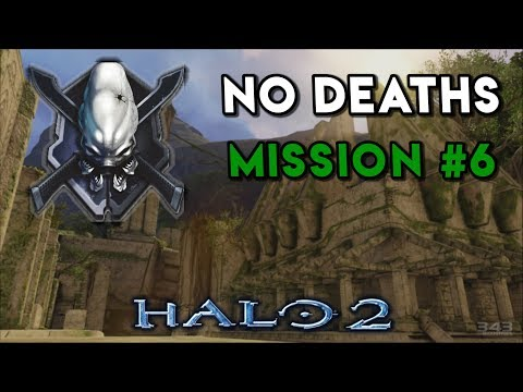 Halo 2 LEGENDARY NO DEATHS Walkthrough ► Mission #6 Delta Halo