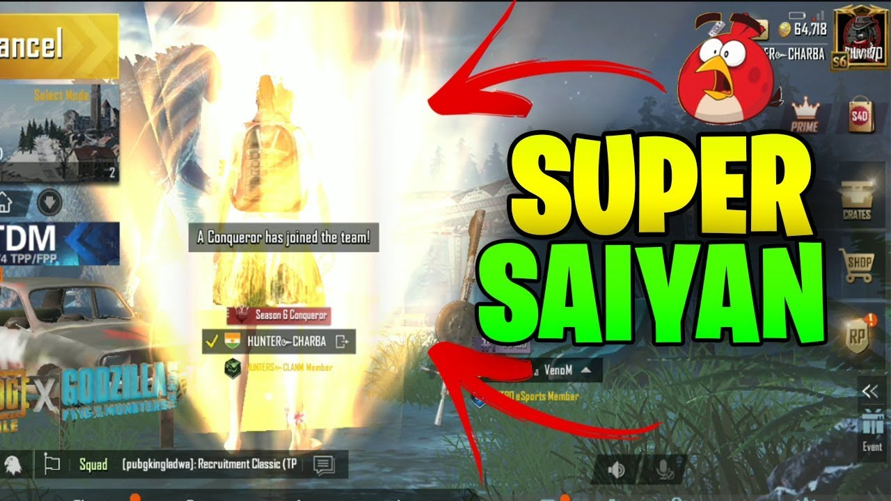 SUPER SAIYAN EFFECT IN PUBG MOBILE AND NEW MAP NEW FEATURES UPDATE 0 13 0