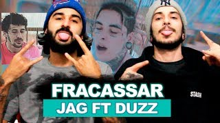 Jag feat. Duzz - Fracassar (Prod. Dragon Boy$) | REACT / ANÁLISE VERSATIL
