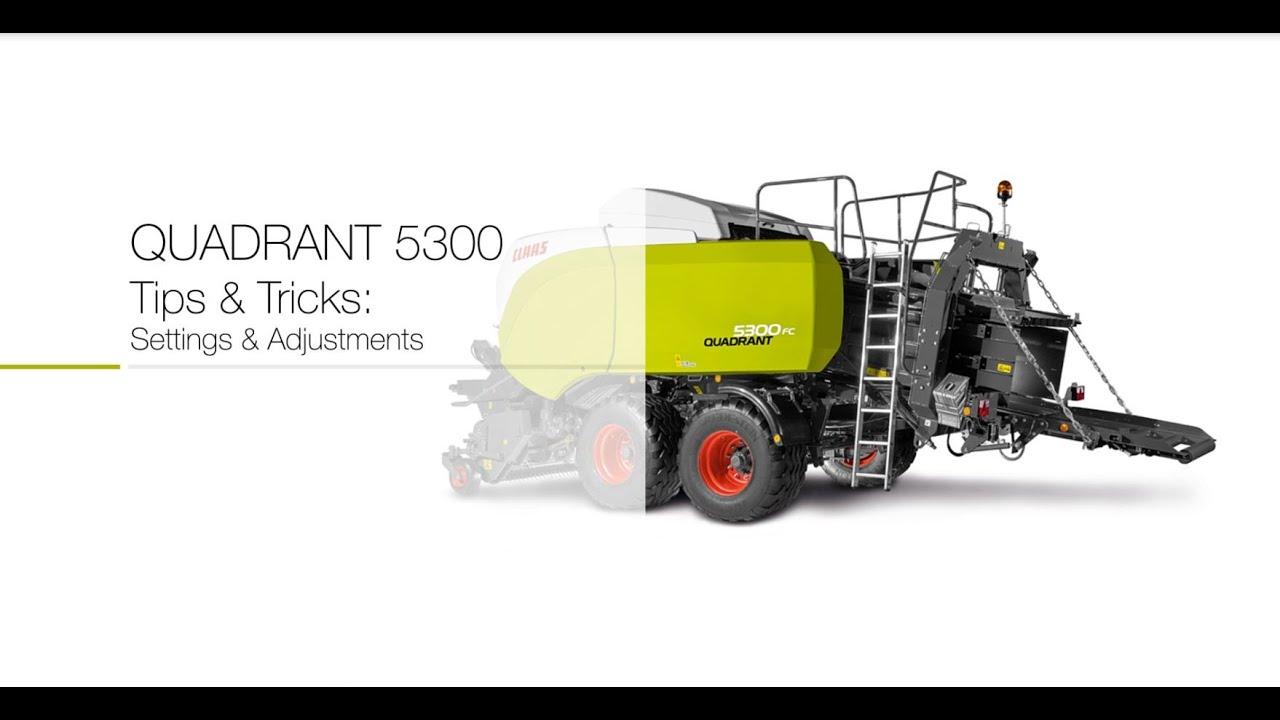 Download QUADRANT 5300 Settings and Adjustments