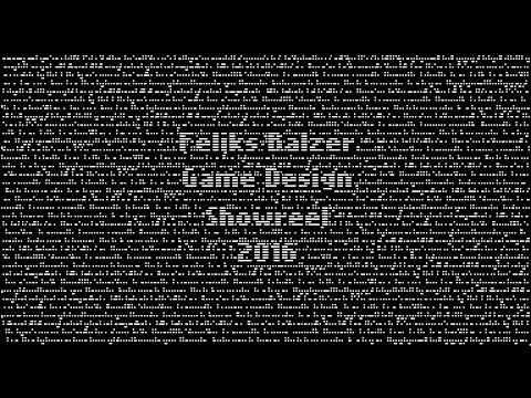 Feliks Balzer - Game Design Showreel 2016
