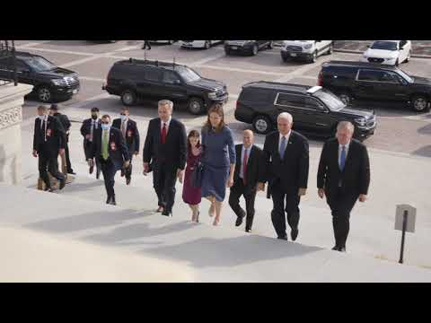 The White House: Vice President Pence Visits the U.S. Capitol with Judge Amy Coney Barrett
