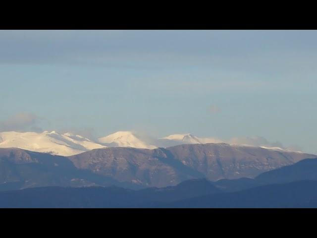 El Pirineu oriental esplèndidament nevat - Vic- Desembre 2020