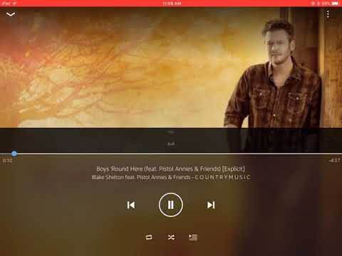 Blake Shelton Boys Round Here (feat. Pistol Annies & Friends) lyric video