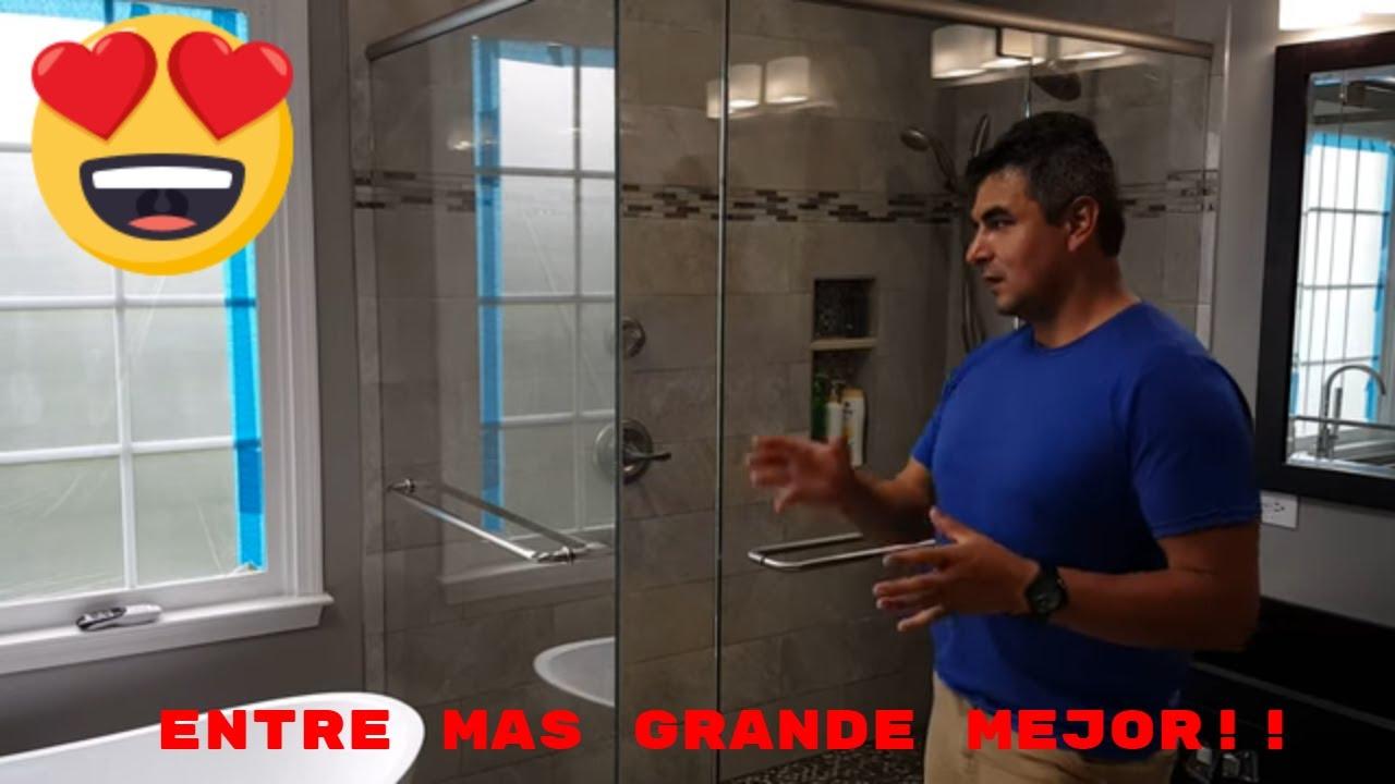 ideas de duchas grandes para la habitacin principal - Duchas Grandes