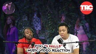 "f(x) ""4 Walls"" Music Video Reaction"