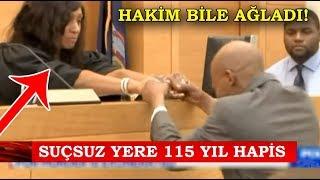 Suçsuz Yere 115 Yıl Hapis Cezası🔥 Hakim Bile Ağladı!