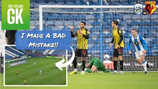 HUGE MISTAKE! I Did a Bad Thing Against Huddersfield Town! | Away Days | Ben Foster - TheCyclingGK