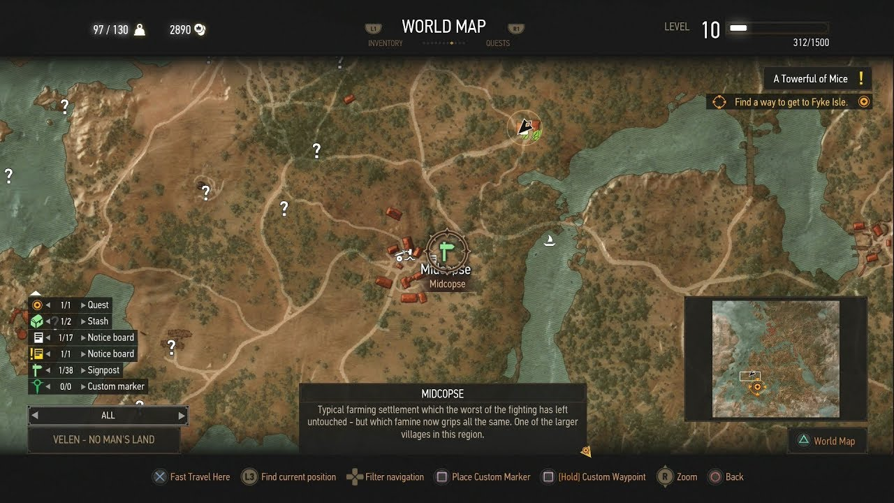 The Witcher 3 Keira Metz Location - YouTube