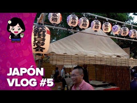 ChicaGeek en Japón #5 - El matsuri (festival) de mi barrio en Tokio - 동영상