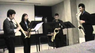 Chinese Rag by Jean MATITIA / Salaya Saxophone Quartet