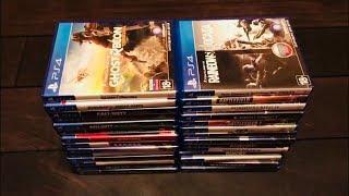 Моя коллекция игр на Ps4!!!
