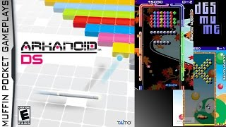 Arkanoid DS Desmume Gameplay HD