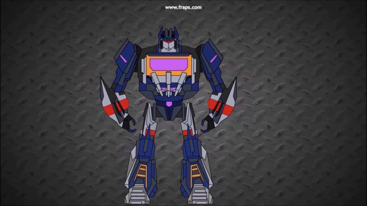 Soundwave Wfc Transform Short Flash Transformers Series