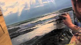 Море, уроки рисования для начинающих, Сахаров