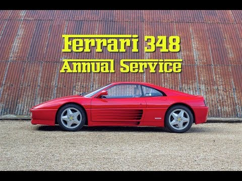 How to Perform a Ferrari 348 Annual Service Full Step by Step Process
