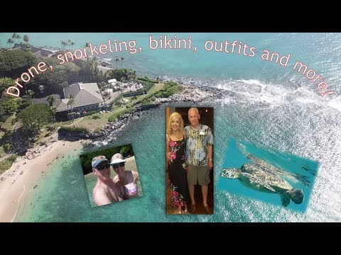 Maui Vlog #6 2017  - Drone Shots, Snorkeling and more!