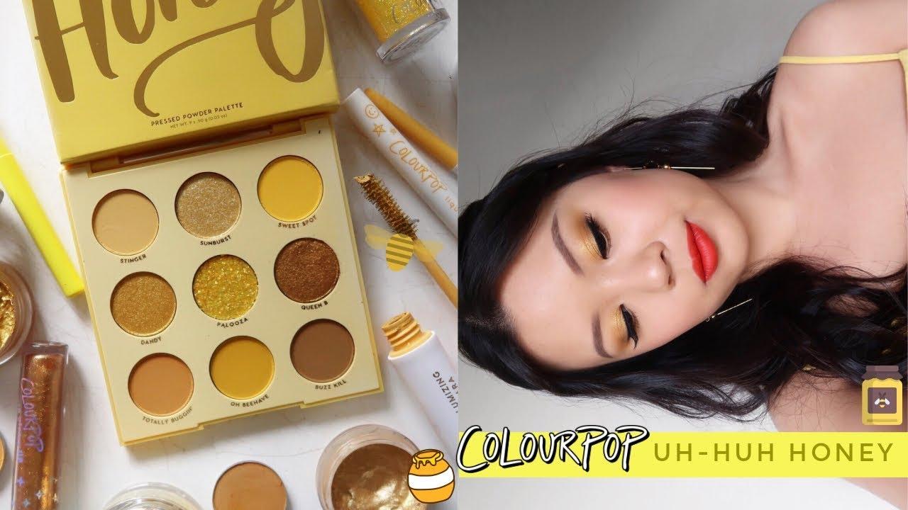 Colourpop Uh-Huh Honey Palette Review - Glamianna