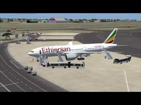 Flight from Nairobi to Brazzaville (Ethiopian)