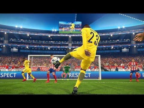 FINAL DA CHAMPIONS LEAGUE PSG VS ATLÉTICO DE MADRID ESPECIAL - PES 2018 - RUMO AO ESTRELATO #89