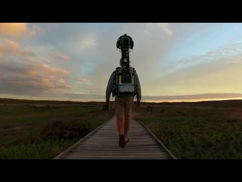 """""""I am the Google Trekker"""" - Discover South Africa with Google Street View"""