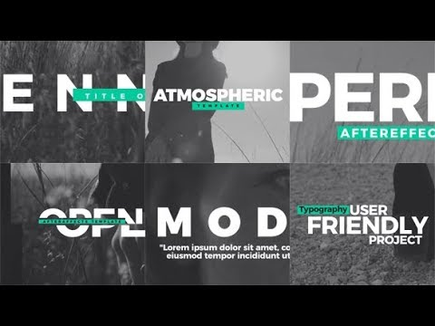 Title Opener - After Effects template - 동영상