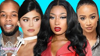 Megan Thee Stallion argued with Tory over Kylie Jenner? | Megan drags Draya! | Kanye outs Kim & Meek