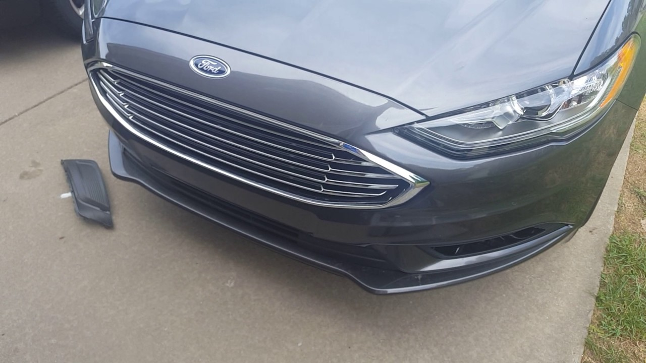 2017 Ford Fusion Fog Light Installation Question