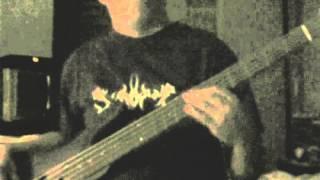 Dusk - pestilence - demise of time ( bass cover )