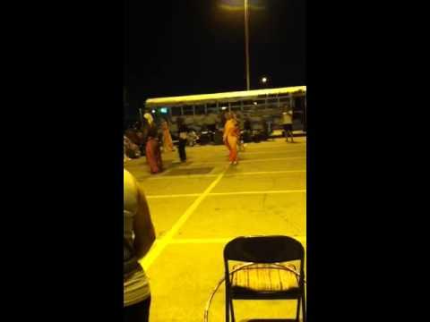 Belly Dancers in Arlington, TX parking lot