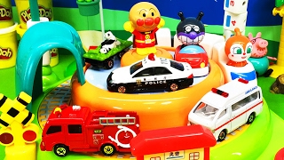 アンパンマン アニメおもちゃ のりものステーション つぶつぶねんど 砂遊び 水遊び 人気動画31まとめ❤連続再生 Toy Kids トイキッズ animation anpanman thumbnail