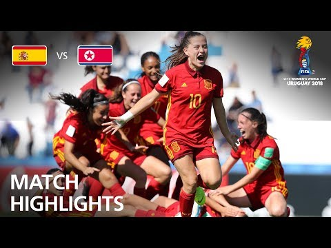 Spain v Korea DPR - FIFA U-17 Women's World Cup 2018™ - Quarter-Final