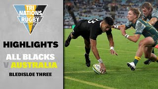 HIGHLIGHTS: All Blacks v Australia (Sydney)