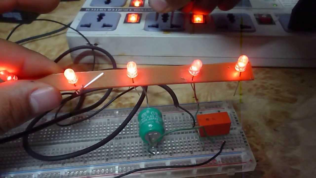como hacer una luz de emergencia cacera con cargador de