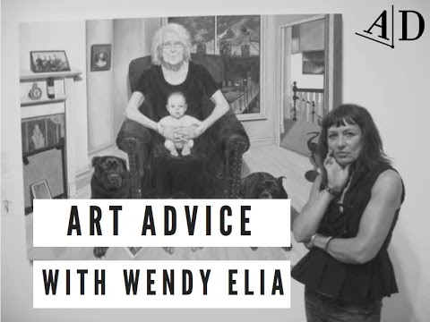 Art Advice with Wendy Elia: Adelaide Damoah Art Discussion