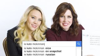 Kate McKinnon & Vanessa Bayer Answer the Web's Most Searched Questions | WIRED thumbnail