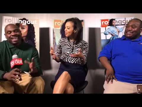 Tracye Hutchins of CBS 46 sits in w/ Rolling Out w/ The Crush on 9/14/17