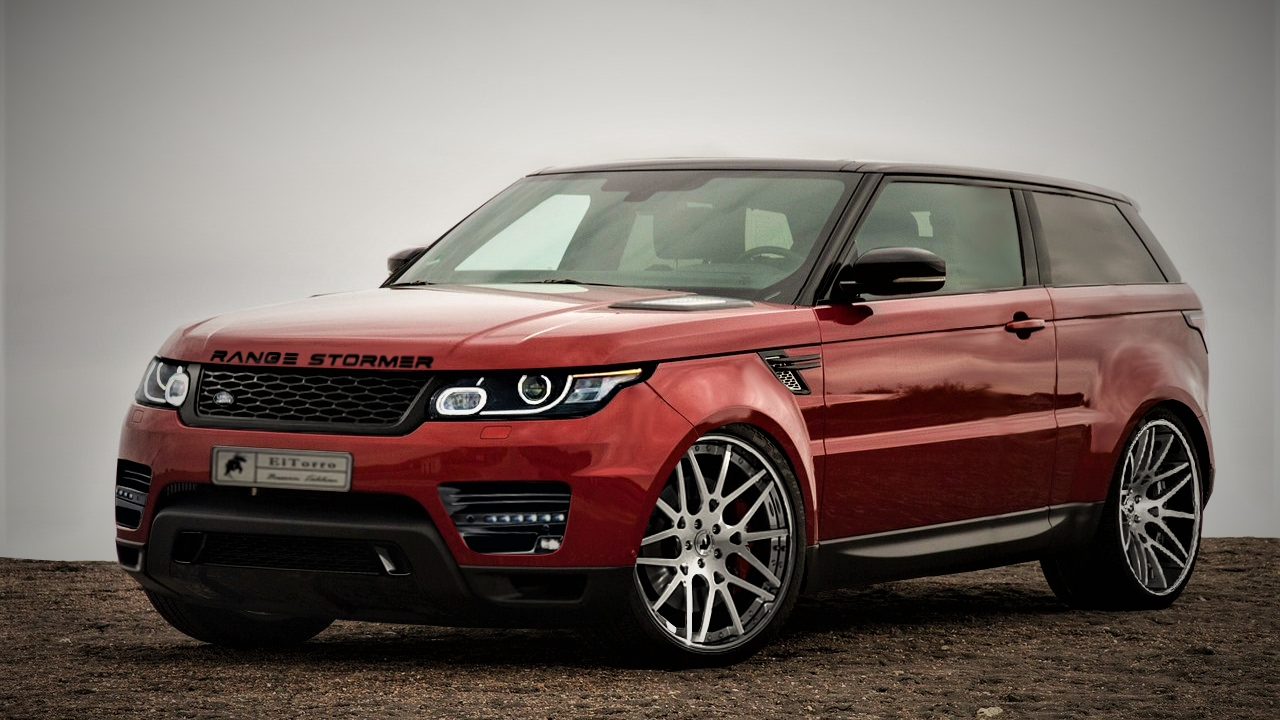 New Stormer 2020 Range Rover Stormer Concept Virtual Tuning
