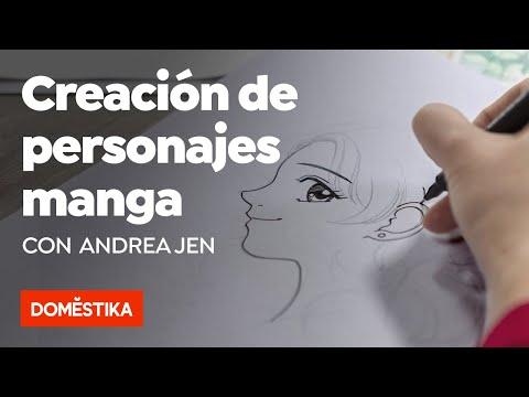 Creación de personajes manga – Curso online de Andrea Jen